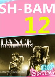 on Hot Sale New Routine Course SH 12 BAM Aerobics Fitness Exercise Dance SH12 BAM12 Video DVD + Music CD Free Shipping