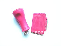 Wholesale BEST PRICE ROSE RED COLOR Nail Stamper Metal Scraper For Image Plate Printer