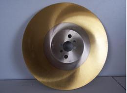 apol 10 inches circular saw blades 275 *1.2*32mm HSS-M42 cutting tools high-speed steel saw blades Industrial cutter saw bit golden