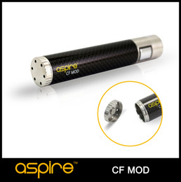 Wholesale Presale Newest Product Aspire CF Mod Mechanical Mod Mod Electronic Cigarette Mod Carbon Fiber Coated Tube E Cig Battery Aspire Mod