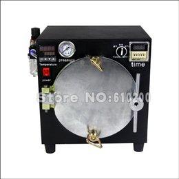 2014 New Arrival Mini High Pressure Autoclave OCA Adhesive Sticker LCD Bubble Remove Machine For Glass Refurbishment