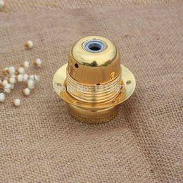 Free shipping&wholesale price metal iron lamp holder e27 pendant light lamp bases metal lamp socket Gold color E27 led base order<$18no trac