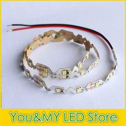 Wholesale 2835 SMD Led Strip S Shape DC V Non Waterproof M for Signs Flexible LED Light Strips Warm White Indoor Decoration