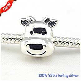 Wholesale Pandora Horse Silver Charm Original Authentic Sterling Silver Charms DIY Jewelry fine jewelry AC3717