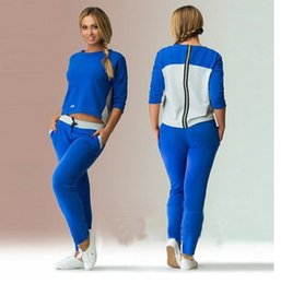 Wholesale Europe and the new winter ladies leisure fashion sports suit women s new big yards