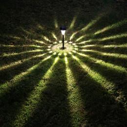 Solar Light Garden Light LED Lighting\ Solar Tower Lamp Plastic Black And Bronze Can Option Outdoor LED Solar Landscape 2pcs