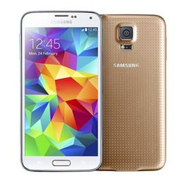 Refurbished Original Samsung Galaxy S5 i9600 G900F G900V G900A G900T G900P With Original Battery Quad Core 2GB 16GB 4G LTE US EU Unlocked