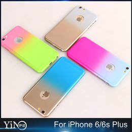 Wholesale 2016 Colorful Derece Full Body Protection Cover Case For iPhone S With Tempered Glass Case Logo Circle
