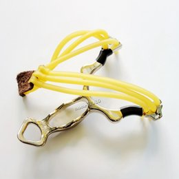 Wholesale Crazy Bear Hunting Slingshots Stainless Steel Launcher with mm L mm W for Outdoor Target Aimpoint