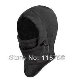 Color negro caliente polar de invierno de color sólido máscaras sombrero de máscara de esquí sombrillas de oído protegido Ski Skull Snowboard Cap desde cráneo del sombrero del esquí proveedores