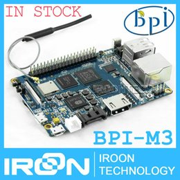 Wholesale BPI M3 Banana Pi M3 A83T Octa Core core GB RAM BPI M3 with WiFi amp Bluetooth4 Open source demo board Single Board Computer