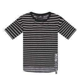 Wholesale HEY BIG New Summer T shirt For Men Hip hop Fashion black stripe t shirts Cotton Skateboard Bboy casual summer t shirt men