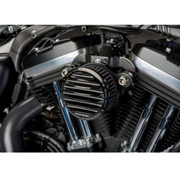 Wholesale New arrival Air Cleaner Intake Filter System For Harley Davidson Sportster XL883 UP Rough Crafts