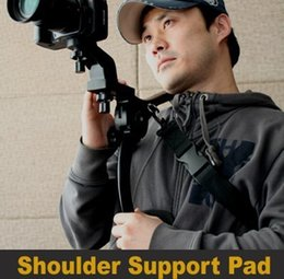 Wholesale-Photography bracket Hand Free Shoulder Pad for Camcorder DV Video Camera Support 6KG Worldwide Free