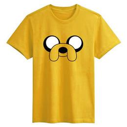 Wholesale Funny Harajuku Sitcoms Adventure Time Shirt Men Jack Basic T Shirt BMO Who Wants To Play Video Games T Shirt Mens Clothing