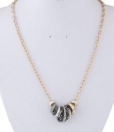 2016 Fashion Gold Link Chain Choker Statement Necklace For Women Bijoux Circule Necklaces & Pendants Collares Women Accessories