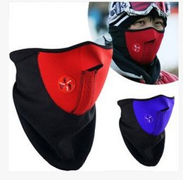 Wholesale 1000pcs CCA2747 Motorcycle Armor Neoprene Snowboard Ski Cycling Face Mask Neck Warmer Bike Bicyle mask Wind Proof Mask Motor Protective Mask