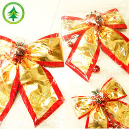 Wholesale Christmas decoration big bow Christmas decorations festively site layout props