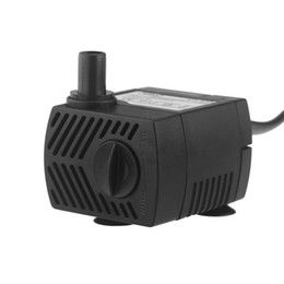 Wholesale 300L H V Submersible Water Pump Hydroponic for Aquarium Rockery Fountain Fish Pond Tank Aquarium Pumps W Hz