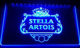 LS021-b NEW Stella Artios Anno 1366 Bar Neon Light Sign