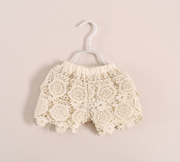 crochet lace girl shorts girls lace shorts children fashion shorts kids girls floral lace shorts free shipping in stock