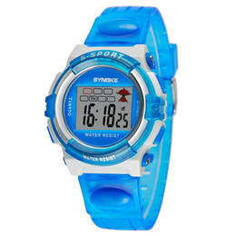 New Arrival Sports Men Life Waterproof Watches Digital Multi-Function Watches For Children Mix Colors Boy Girl Watch For Christmas Gift