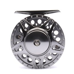 Wholesale 2BB RB LARGE ARBOR designed FULL METAL fly fishing reel PRECISION MACHINED from BAR STOCK ALUMINUM