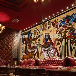 Wholesale High quality Modern Luxury d wallpaper mural papel de parede wall paper photo wallpaper ancient Egypt gauge factor
