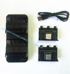 2017 xbox dual Doble muelle de carga para el controlador inalámbrico de Xbox One con paquete de batería muelle de cable USB para iphone 4 xbox dual limpiar