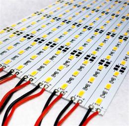 LED Bar Lights 5630 72LED LED Bar Light Strip Non-waterproof Cool White Warm White 10meter DC 12V LED Hard Strip Aluminium led lighting