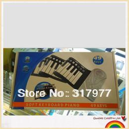 Al por mayor-49 teclas mano flexible rueda Piano digital - Es un 49 piano del teclado suave desde piano del teclado suave 49 fabricantes