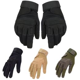 Wholesale-Mens Blackhawk outdoor Tactical Gloves airsoft Cycling Shooting Mitten Tortoise Shell GYM Glove JR05