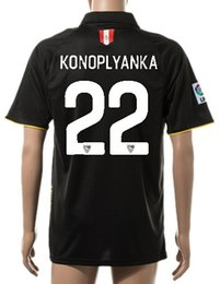 Thai Quality Customized 15-16 New season 22 KONOPLYAKA Soccer Jerseys shirts,Wholesale Cheap Football Jerseys,men 4 KRYCHOWIAK Soccer Wear