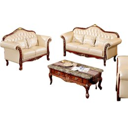 American Wood Living Room Sofa leather Sofa corner the size of apartment Continental furniture