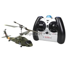 Wholesale ASLT S102G Gyro CH Channel Infrared Remote Control RC Helicopter Army Green order lt no track