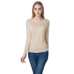 High Quality Women Winter Tops Long Sleeve Cotton T Shirt Women O Neck Backless Sexy Tops Loose Casual Tee Plus Size Blusas