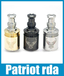 Patriot Atomizers rda 3.0ml replaceable stainless steel rda 2015 hot sale 510 Thread dhl free atb013