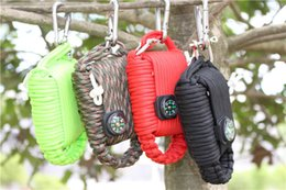 Wholesale-Outdoor Survival Kit Paracord Weave Survival Grenade
