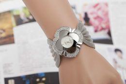 2014 the most popular women's net belt set auger luxury bracelet watch Marble mirror quartz watch