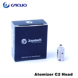 100% Original Joyetech Atomizer c2 Head 2.4ohm Stainless Steel Material Atomizer Coil Replacement Electronic Cigarettes Coils