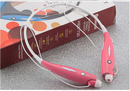 Wholesale 160pcs HBS730 Wireless Bluetooth Headsets Stereo Tone Sport Apt X Headset In ear Headphones For LG iPHONE HBS730 Earphone AAA