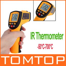 Wholesale Hot Sale Non Contact Laser IR Thermometer degree w Alarm MAX MIN AVG DIF dropshipping