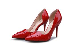 Two-Piece Pointed Toe Red Bottom High Heels Fashion Sexy High Heel Shoes Women Pumps wedding shoes Pumps 6 colors