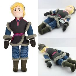 Wholesale 2014 Retail CM New Frozen Kristoff Plush Dolls Stuffed plush Soft Toys Baby Toy Christmas Gift Hot BO6957