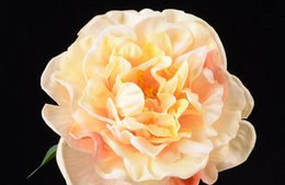 Artificial Flowers hight quality Peony pu flower artificial peony pure hand made wide flower 72cm high