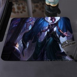 Wholesale Cool LoL Victorious Morgana Mouse Mat Rubber Cool Non Skid Desk Gaming Mouse Pad