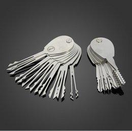 20psc Foldable Lock Opener Double Sided lock picking tools Lock Pick Set Locksmith Tools