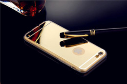 Luxury Clear Aliclic Mirror Electroplating Ultra Thin Soft Gel TPU Case For iPhone6S 5S 4.7 Plus 5.5 inch Samsung Galaxy S6 Edge Cases