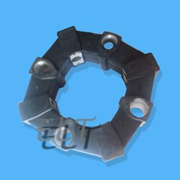 Wholesale Hydraulic Main Pump Rubber Coupling A for Excavator E120B E312 E311B HD450 A Coupling with Aluminum