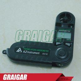 AZ8918 digital pocket anemometer wind speed meter wind speed gauge thermometer Hygrometer